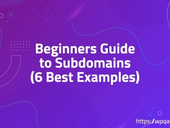 Beginners Guide to Subdomains (6 Best Examples)