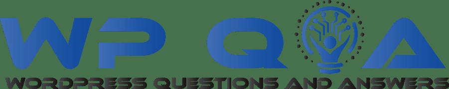 WordPress Q and A